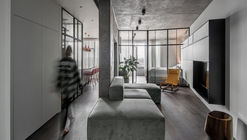 Apartmento Concrete66 / Pinchuk Virovtseva Architects