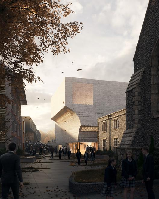 Krft diseña el nuevo edificio de artes escénicas de Brighton College en Reino Unido, Courtesy of krft