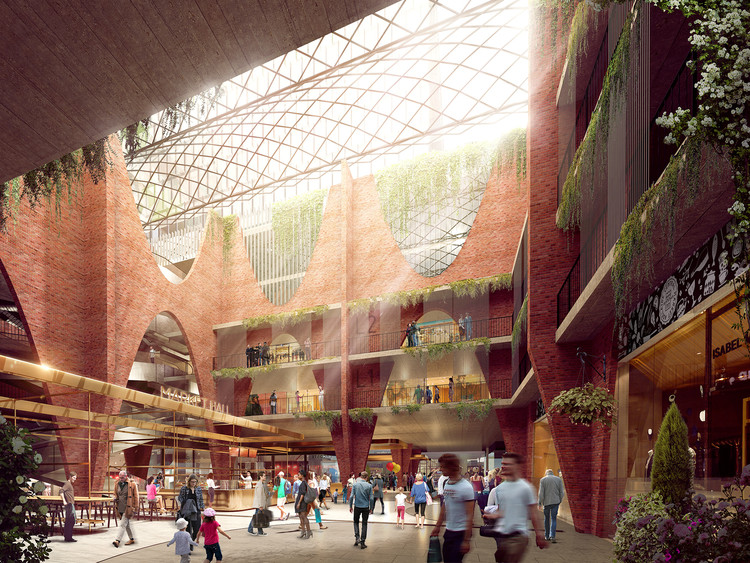 Woods Bagot Reveals Winning Design for New Adelaide Central Market Arcade, Adelaide Central Market Arcade. Image Courtesy of Woods Bagot