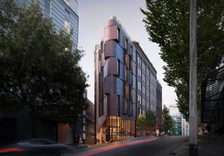 TZG transformará antiga fábrica de chapéus em Sydney em hotel de luxo, Cortesia de Tonkin Zulaikha Greer