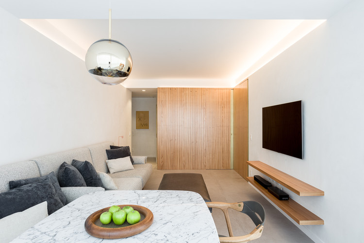 Apartamento DCZ  / Pascali Semerdjian Arquitetos, © Ricardo Bassetti