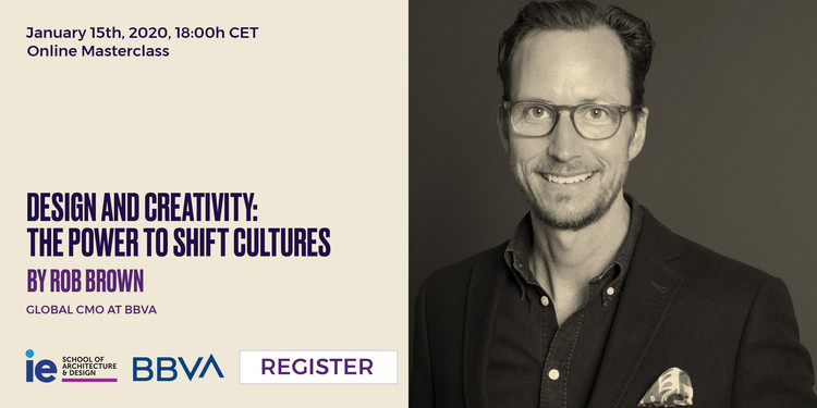 Online Masterclass: Design and Creativity. The Power to Shift Cultures
