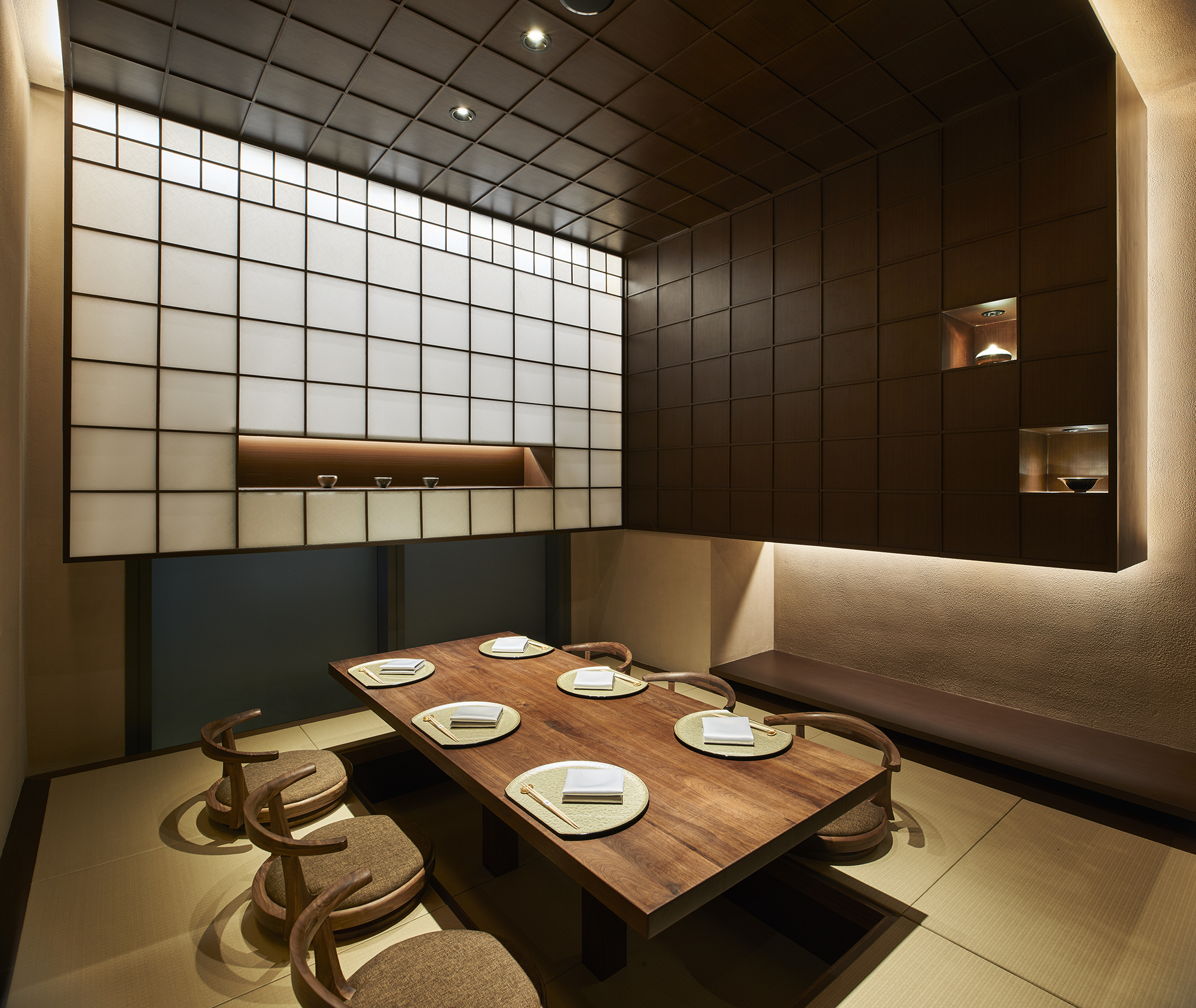 Kan Japanese Restaurant Odd Archdaily
