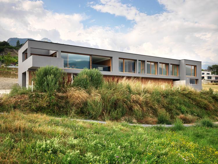 House ROFR / Ralph Germann architectes, © Lionel Henriod