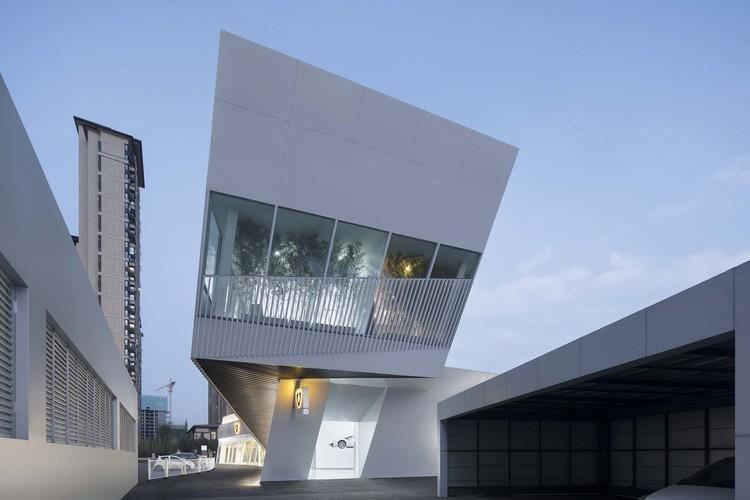 Lamborghini Exhibition Center / PMA, exhibition center. Image © Zhi Xia