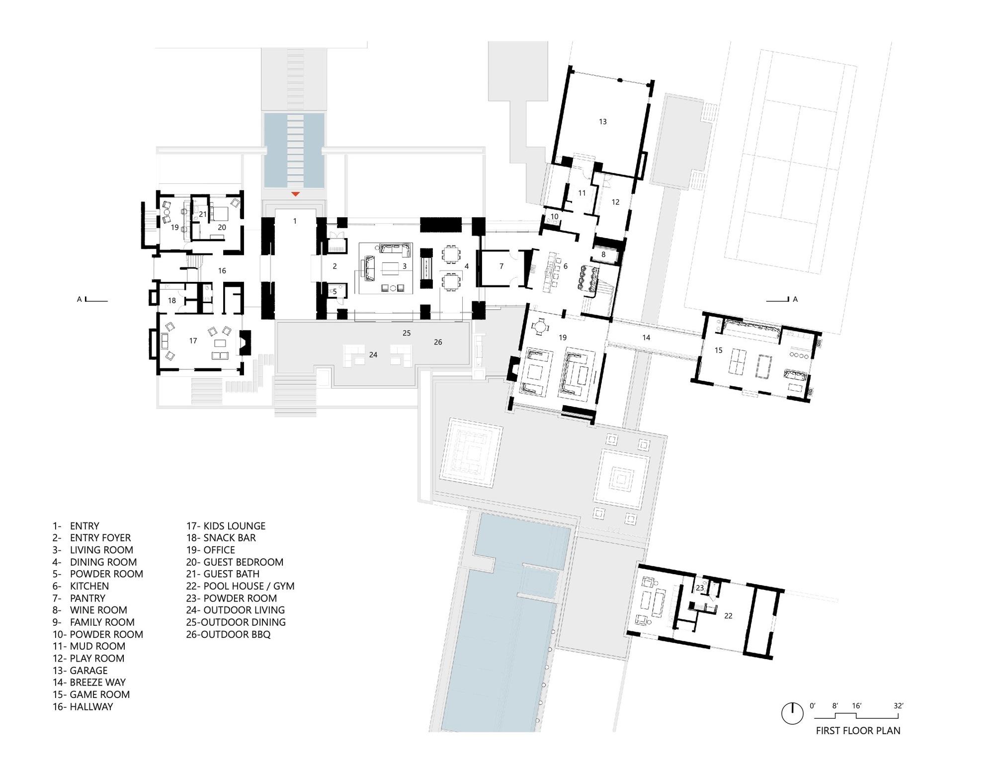 Gallery Of Sagaponack Compound House Blaze Makoid Architecture 12