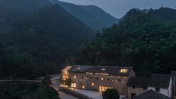 Capsule Hotel and Bookstore in Village Qinglongwu / Atelier tao+c