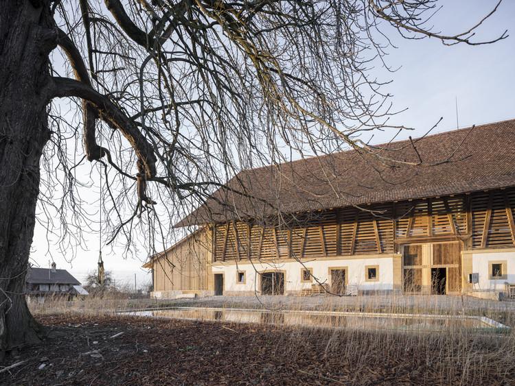 Renovación del castillo Münchenwiler / bernath+widmer, © Roland Bernath