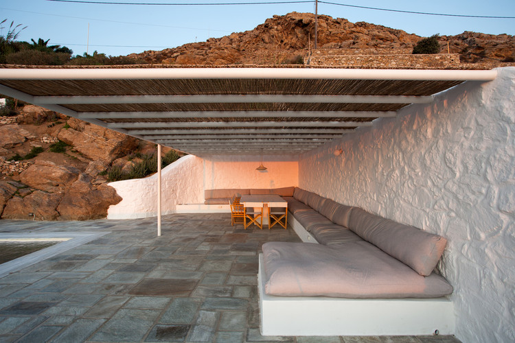 Casa de Verão em Mykonos / ARP - Architecture Research Practice, © Yiannis Hadjiaslanis