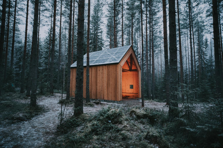 Church Stone Shelter / Arkkitehtitoimisto TILASTO