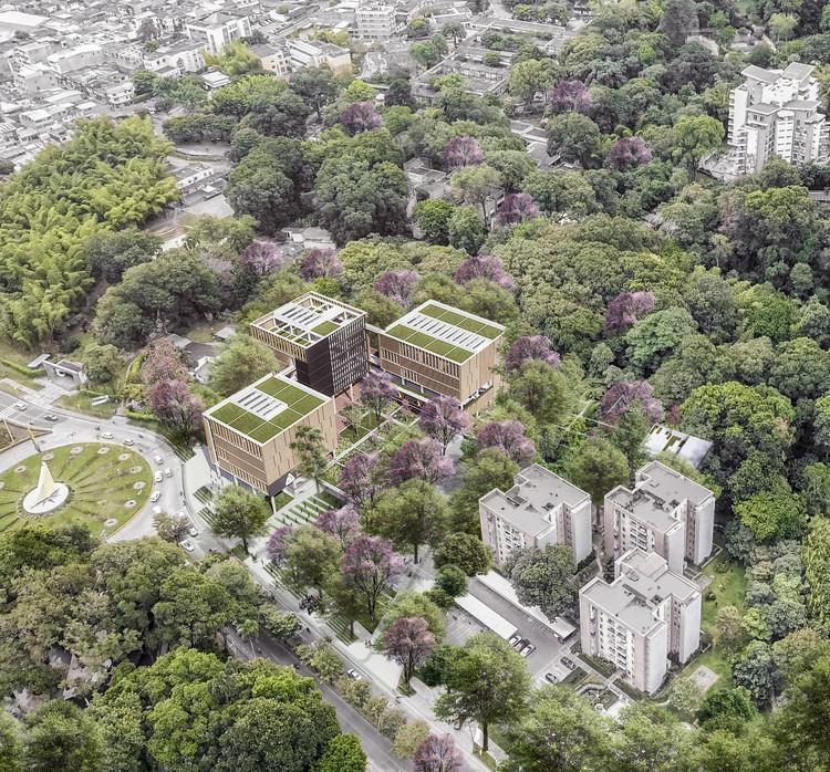 Nuevo proyecto en Universidad de Ibagué, vincular ciudad y campus, Cortesía de DARP