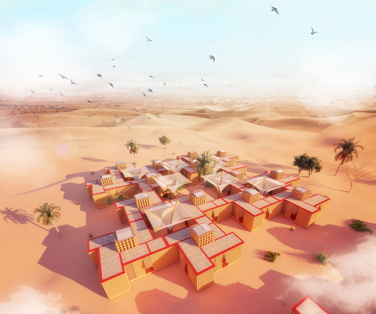 House Challenge 2019 Explores Temporary Dwellings in the Desert, Courtesy of Ahmed M. Aglan & Haridas Narvekar
