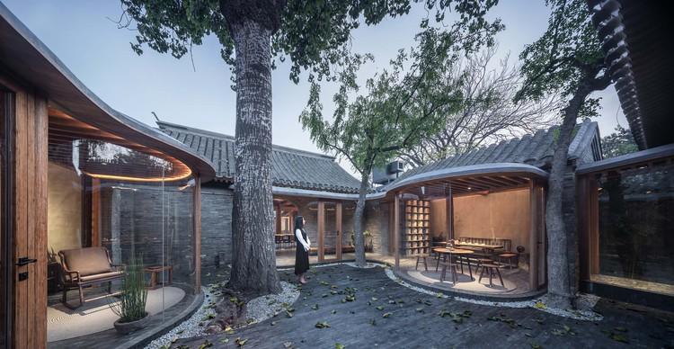 Patio Qishe / ARCHSTUDIO, Tercer patio de la casa de té. Imagen © Qingshan Wu