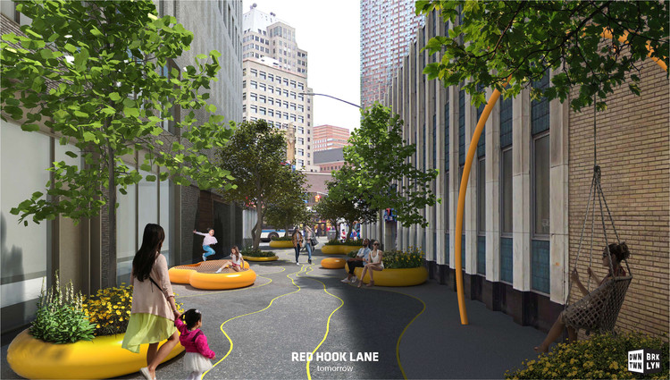 Big And Wxy Propose Plans For Greener And Safer Downtown Brooklyn