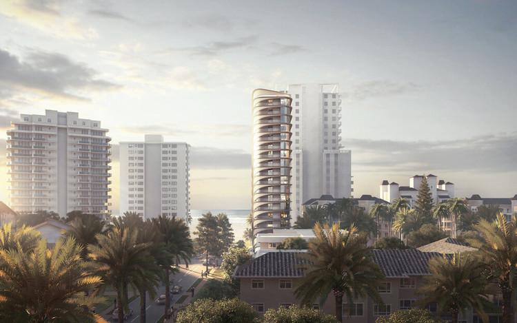 Contreras Earl Designs Sweeping Queensland Tower in Australia, Courtesy of Sanlab