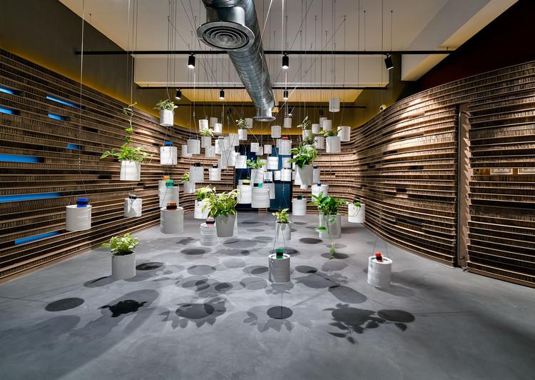The Cardboard Office / Studio VDGA, © Hemant Patil
