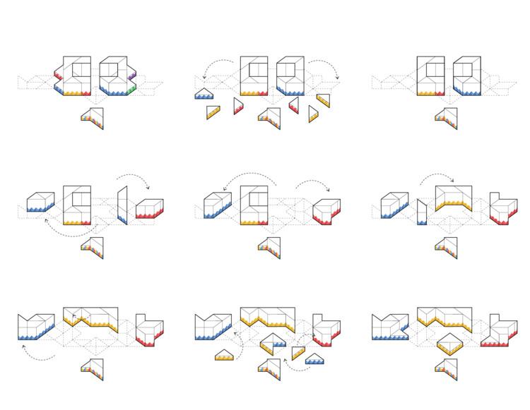 """El Equipo Mazzanti realiza exposición dinámica sobre su proceso de diseño """"Jugando con Pedagogías"""" , Stopmotion configuraciones. Image Cortesía de El Equipo Mazzanti"""