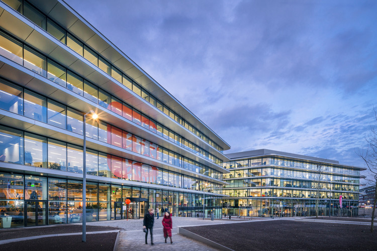 Cedar ING Offices / Benthem Crouwel Architects + HofmanDujardin, © Jannes Linders