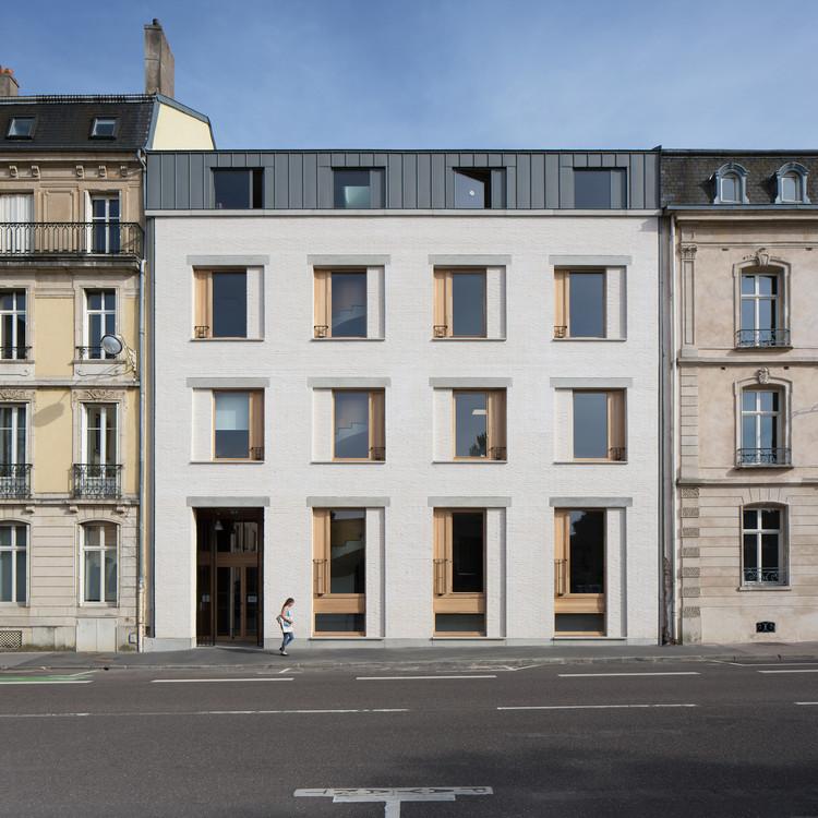 Ampliación y renovación de una escuela de doctorado / Agence Vulcano-Gibello, © Olivier Mathiotte