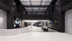 Byton Production Base Office / inDeco