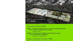 International Competition for Cheongju New Cityhall, S.Korea