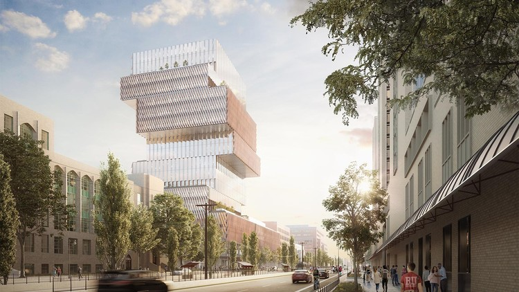 Boston's Largest Carbon-Neutral Building Breaks Ground, Courtesy of KPMB Architects