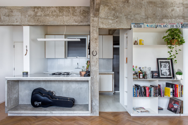 Apartamento Marchi / Rodrigo Bocater, © Luiza Schreier
