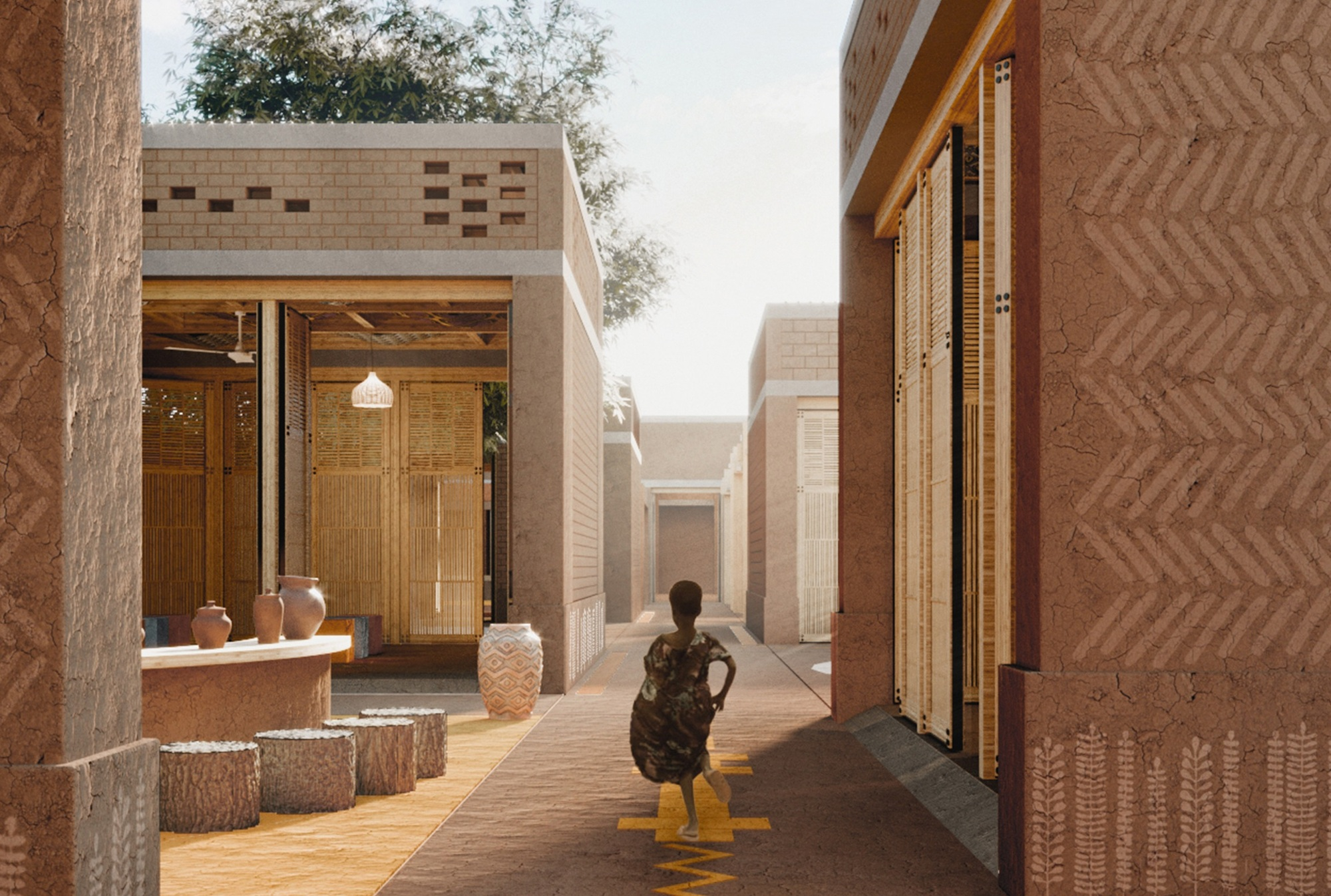 Gallery of Archstorming Announces Winning Designs for Mozambique Preschool - 1