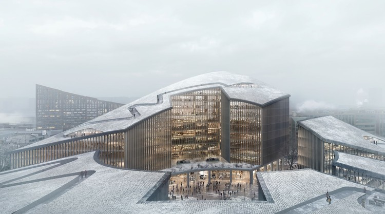 ODA Designs Master Plan to Regenerate Post-Industrial Sites in Moscow, Courtesy of Brick Visual