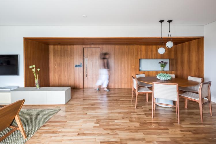 Apartamento Cervantes / Mandarina Arquitetura, © Nathalie Artaxo