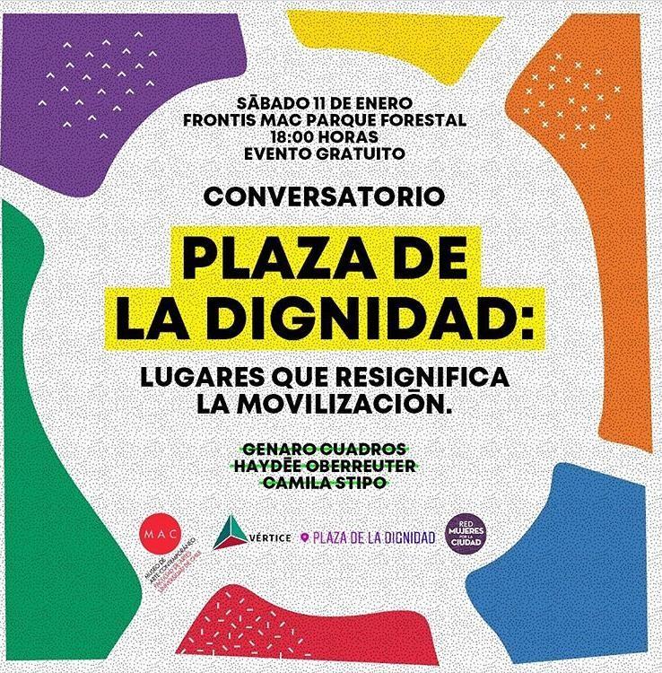 Conversatorio Plaza de la Dignidad: Lugares que resignifica la movilización