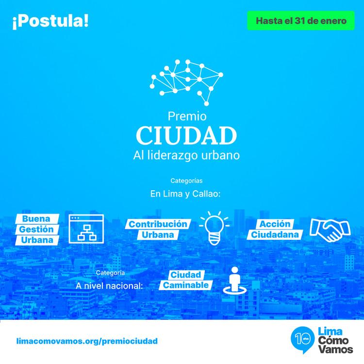 II Premio Ciudad al Liderazgo Urbano , Lima Cómo Vamos