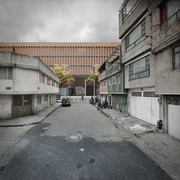 Los ganadores del concurso público para el diseño del colegio Hipotecho, Cortesía de AR-AR (Martínez Arquitectura).