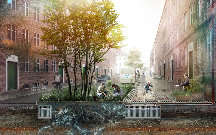 How Cities are Using Architecture to Combat Flooding, © THIRD NATURE