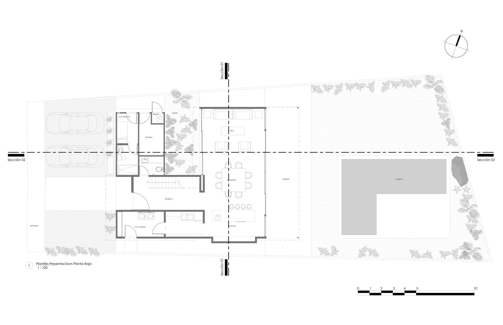 Gallery of Golondrinas 34 House / estudio AM arquitectos - 14