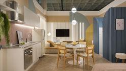 Apartamento Cores / Camila Fleck Arquitetura