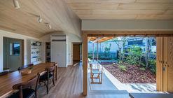 Bakery workshop space in Himi  / Takashi Okuno & Associates
