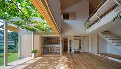 葡萄架之家 / 奧野崇建筑設計事務所