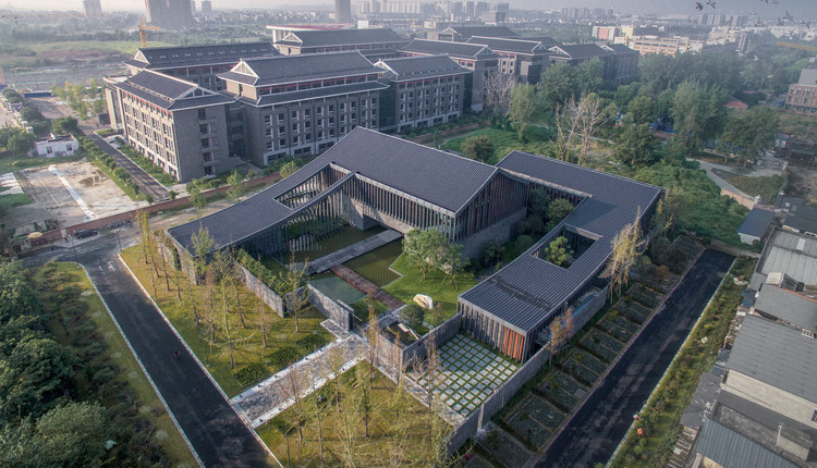 Himalayan Culture and Religion Research Center in Sichuan University / CSWADI, ZAD, © Arch-Exist