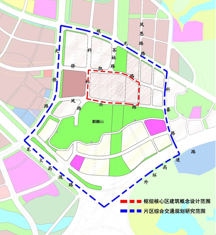 Research Scope of the Solicitation for the Conceptual Design of Guangmingcheng Integrated Transport Hub