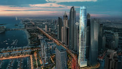 El hotel más alto del mundo tendrá lugar en Dubai Marina