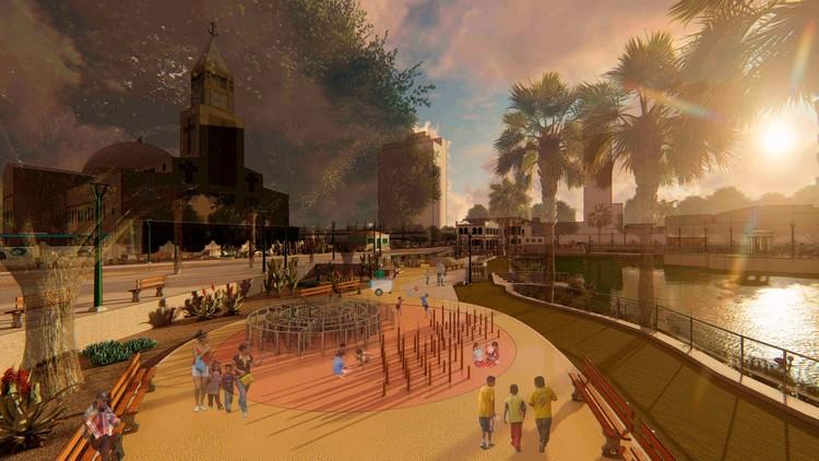 """Projeto transforma o Parque da Liberdade de Fortaleza em uma """"cidade das crianças"""", Inteligência lógica. Image Cortesia de Equipe de projeto"""