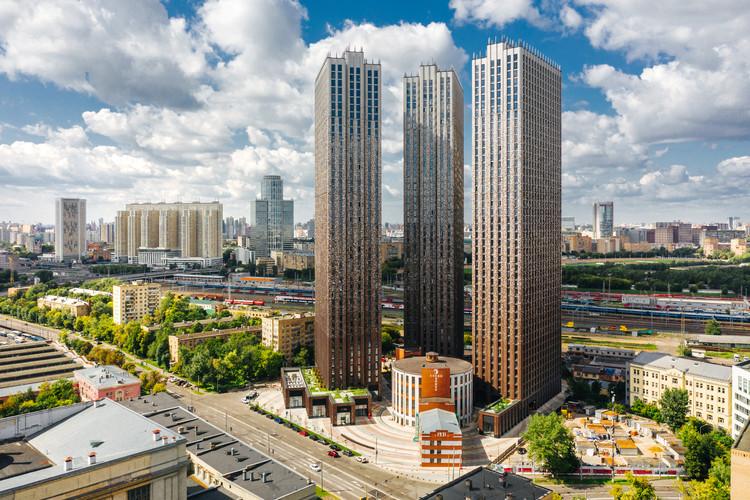 Presnya City Residential Complex / Sergei Tchoban + SPEECH, © Dmitry Chistoprudov / SPEECH
