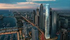 世界最高酒店建筑,迪拜码头酒店Ciel 动工