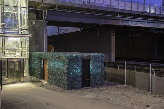 Recycling Station  / AIX Arkitekter