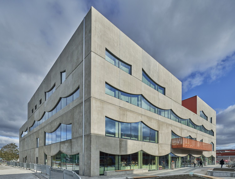 Selma Lagerlöfs Cultural Center / White Arkitekter, © Åke E-son Lindman