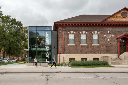 St. John's Library Restoration / Public City Architecture