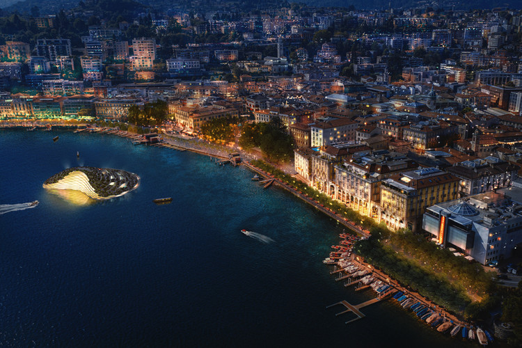 Carlo Ratti Associati Reveals New Vision Plan for Lugano's Waterfront, Courtesy of CRA-Carlo Ratti Associati