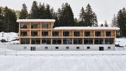 坎普拉滑雪中心,景观的'针灸式'介入 / Durisch + Nolli Architetti