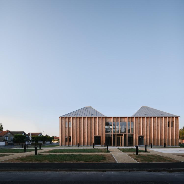 Centro médico Taverny / MAAJ ARCHITECTES, © François-Xavier Da Cunha Leal